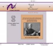 --May 4, 2001 - Chorus Niagara with Sir David Willcocks