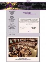 --May 3, 4, 2003 - Chorus Niagara at the Armoury