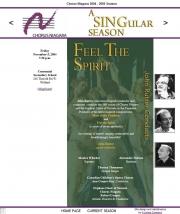 --November 5, 2004 - Chorus Niagara