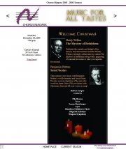 --December 10, 2005 - Chorus Niagara
