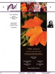 --November 4, 2006 - Chorus Niagara