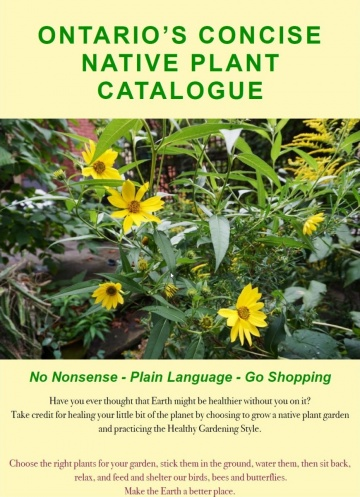 --Ontario's Concise Native Plant Catalogue
