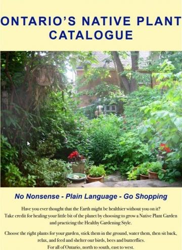 --Ontario's Native Plant Catalogue